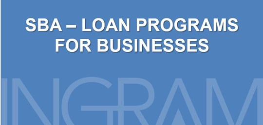 SBA - Loan Programs for Businesses