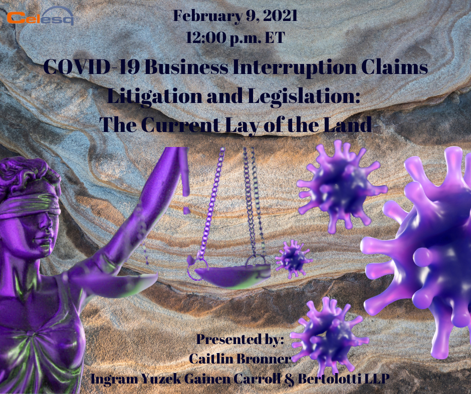 February 9 - COVID-19 Business Interruption Claims Litigation and Legislation_ The Current Lay of the Land - 3115 (002).png